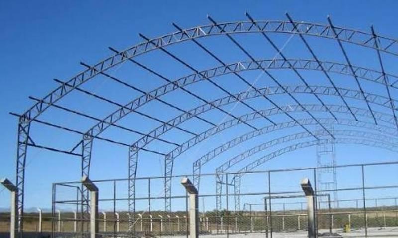 Reforma de Cobertura de Estrutura Metálica Penha - Reforma de Cobertura para Entrada de Prédio