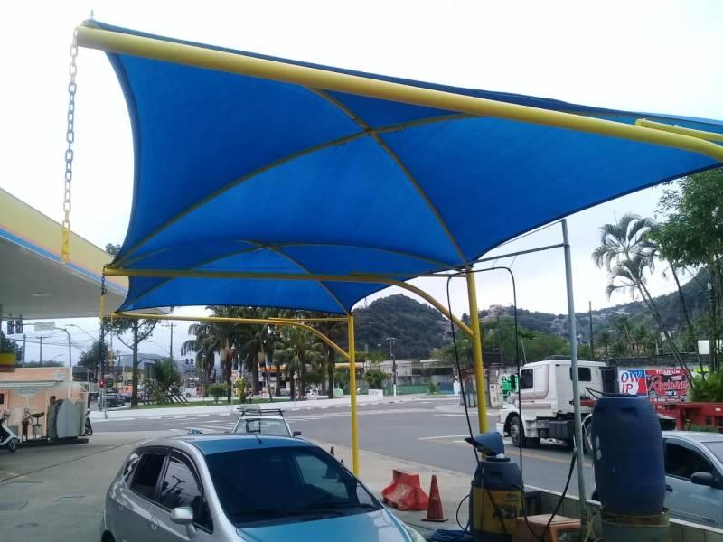 Reforma de Cobertura para Garagem com Lona Preço Praia da Baleia - Reforma de Cobertura para Entrada de Prédio