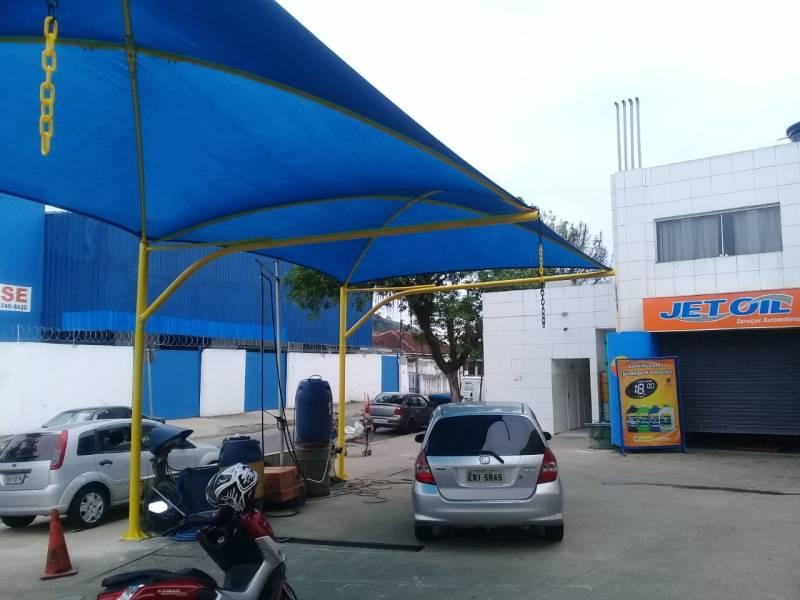 Reforma de Cobertura para Garagem com Lona São José do Rio Preto - Reforma de Cobertura para Entrada de Prédio