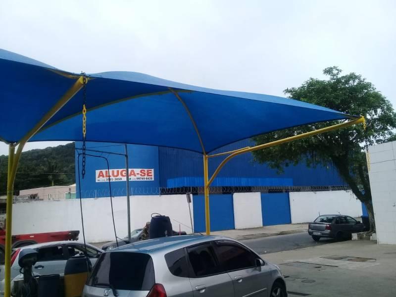 Reforma de Coberturas para Garagem com Lona Cuiabá - Reforma de Cobertura para Entrada de Prédio