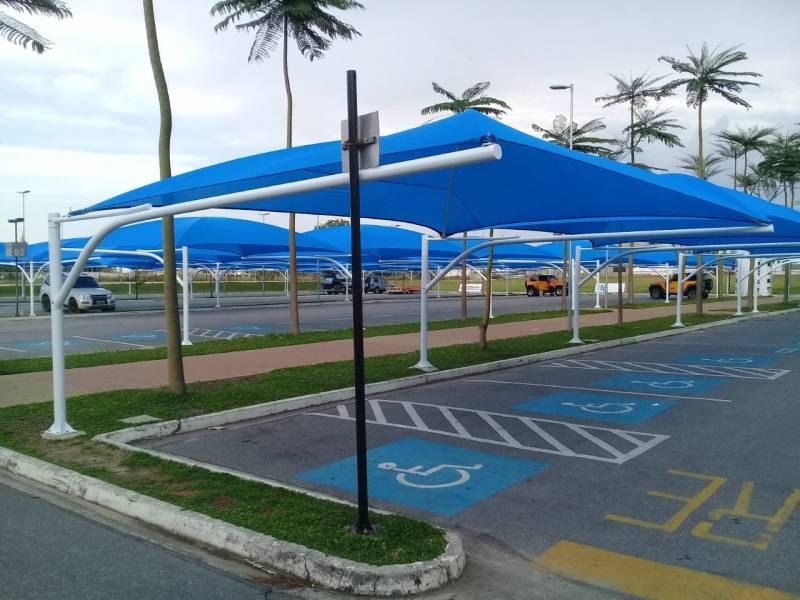 Serviço de Instalação de Sombreador para Estacionamento de Mercado Praia da Baleia - Instalação de Sombreador para Estacionamento