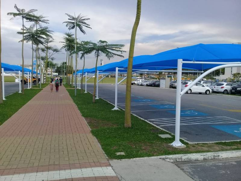 Sombrite de Estacionamento para Supermercado Campo Grande - Sombrite para Estacionamento em Empresa