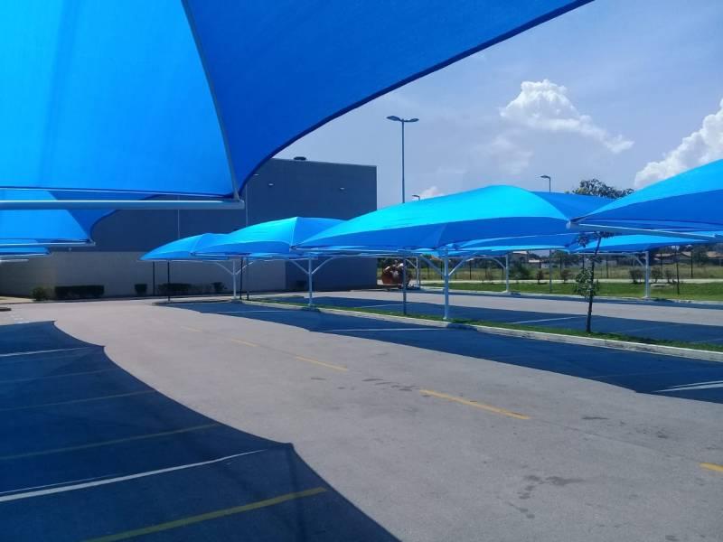 Sombrite para Estacionamento em Mercado Preço Praia da Baleia - Sombrite para Estacionamento em Empresa