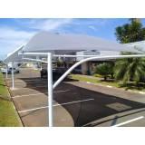 cobertura de estacionamento preço Ubatuba