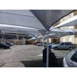 cobertura para garagem preço Cubatão