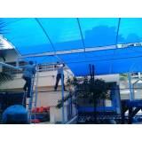 instalação de cobertura de policarbonato preço Parque do Carmo