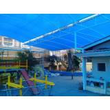 instalação de cobertura de policarbonato Jardim Marajoara