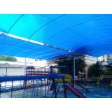 instalação de coberturas de policarbonato Praça da Arvore