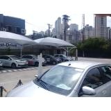 loja de cobertura de policarbonato de abrir e fechar Jardim Marajoara
