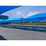 loja de cobertura de policarbonato móvel Boa Vista