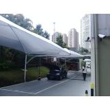 loja de cobertura para entrada de prédio Parque do Carmo