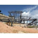 manutenção de cobertura de estrutura metálica