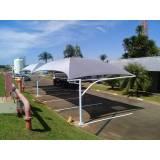 reforma de coberturas para garagem Parque São Rafael