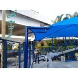 reforma de sombreador de estacionamento preço Ilha Comprida