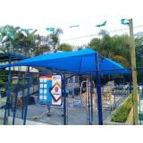 reforma de sombreador de estacionamento Florianópolis