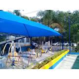 reforma de sombreadores de estacionamento Florianópolis
