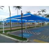 serviço de costura para sombreador de estacionamento de mercado Grajau