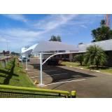 serviço de troca de lona para sombreador de estacionamento Bertioga