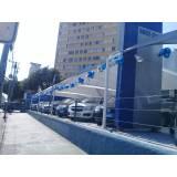 troca de lona para cobertura de estacionamento