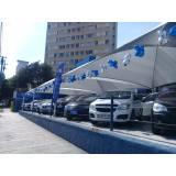 troca de lona para cobertura de estacionamento Parque do Carmo